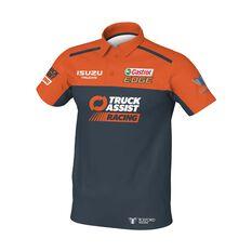 Truck Assist Racing Team Men's 2020 Team Polo Charcoal S, Charcoal, scaau_hi-res