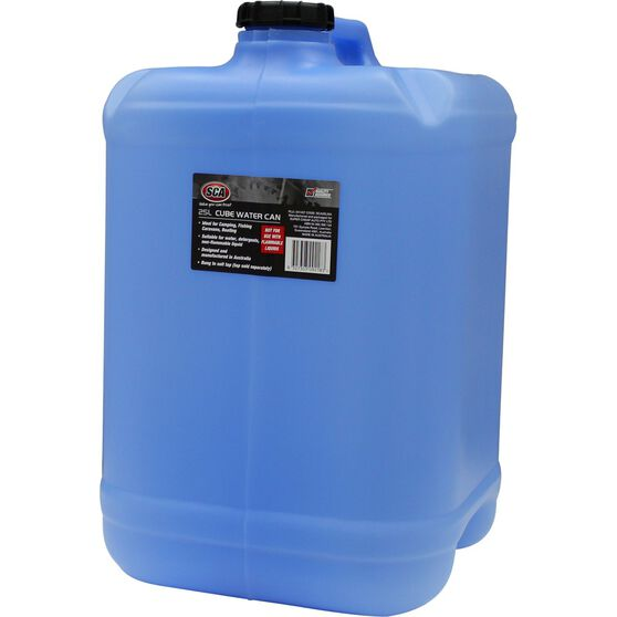 SCA Water Carry Can Cube 25 Litre Blue, , scaau_hi-res