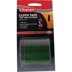 Clingtape Cloth Tape - Green, 48mm x 4.5m, , scaau_hi-res