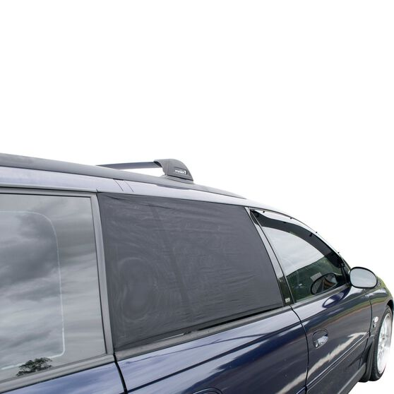 Shevron Window Sox - Suits Holden Commodore VT-VZ Wagon, Side, Black