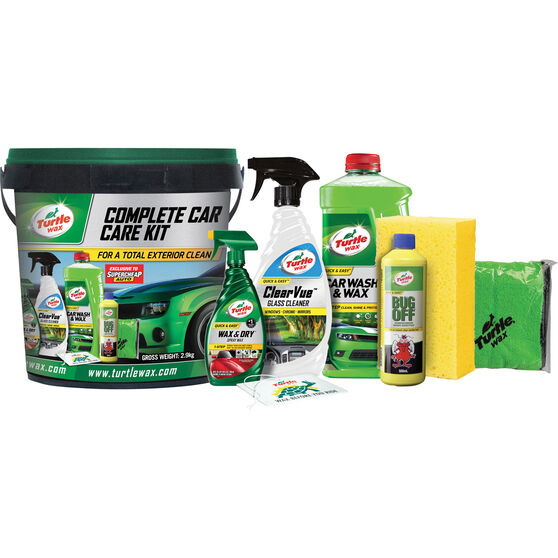Turtle Wax Complete Care Kit - 8 Piece, , scaau_hi-res