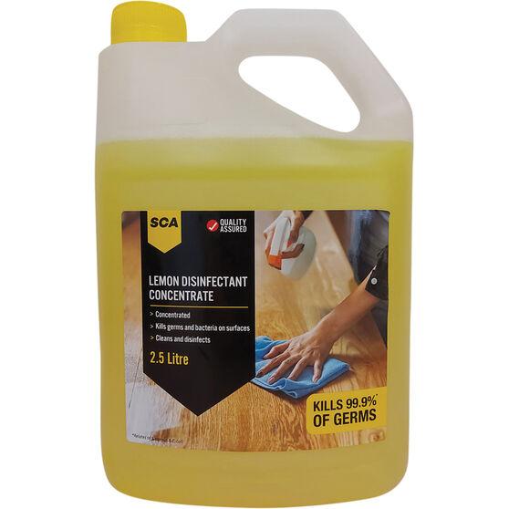 SCA Lemon Disinfectant Concentrate 2.5L, , scaau_hi-res