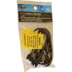 SCA Toggle Straps - Black, 4 Pack, , scaau_hi-res
