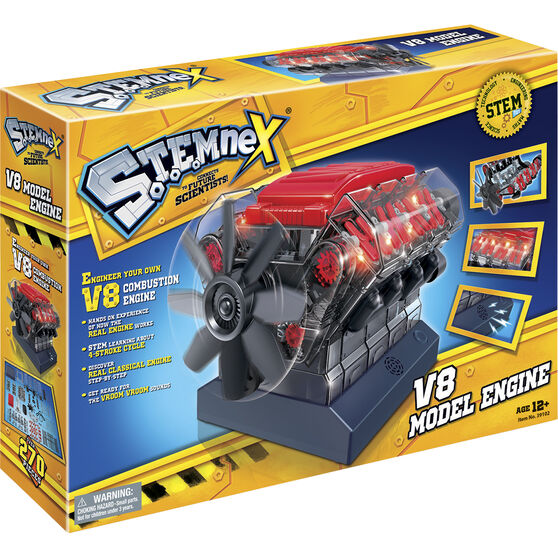 Stemnex - V8 Model Engine, build kit, , scaau_hi-res