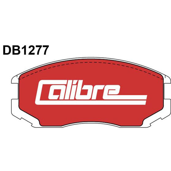 Calibre Disc Brake Pads - DB1277CAL, , scaau_hi-res