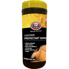 SCA Protectant Leather Wipes - 35 Pack, , scaau_hi-res
