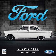 Classic Ford Square 2019 Calendar, , scaau_hi-res