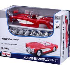 Die Cast, Assembly model; Chevy Corvette - 1:24 model, , scaau_hi-res