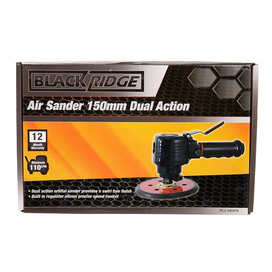 Blackridge Air Sander Dual Action - 6in, , scaau_hi-res