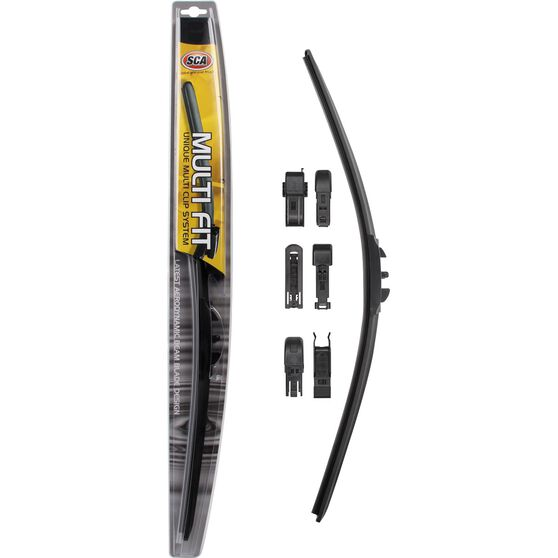 SCA Multi-Fit Wiper Blade, 21 inch, Single, , scaau_hi-res