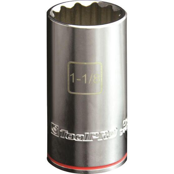 "ToolPRO Single Socket - Deep, 1/2"" Drive, 1-1/8"", , scaau_hi-res"