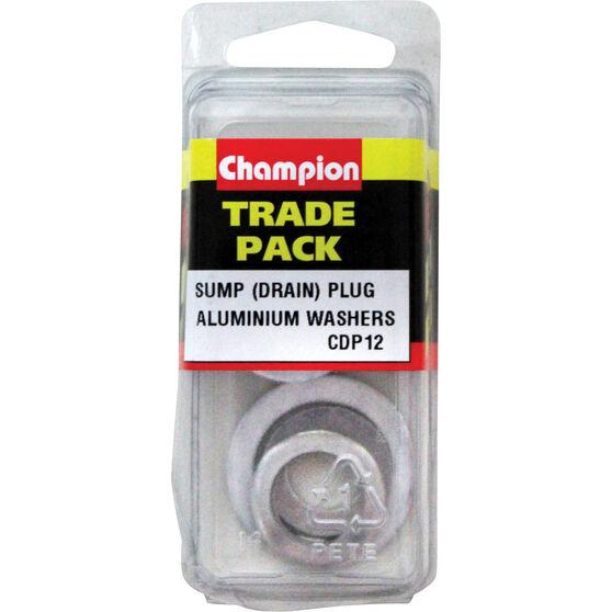 Champion Sump / Drain Plug Washer - CDP12, , scaau_hi-res