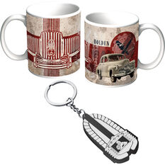 Holden Mug and Keyring Pack - Heritage Grill, , scaau_hi-res