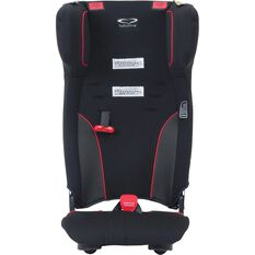Babylove Ezy Move Booster Seat - Black / Red, , scaau_hi-res