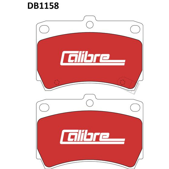 Calibre Disc Brake Pads DB1158CAL, , scaau_hi-res