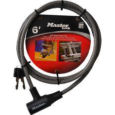 Master Lock Keyed Bike Lock - 10mm x 1.8m, , scaau_hi-res
