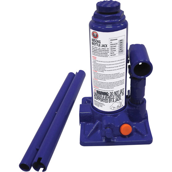 SCA Bottle Jack and Car Stands Kit, 3 Piece, , scaau_hi-res