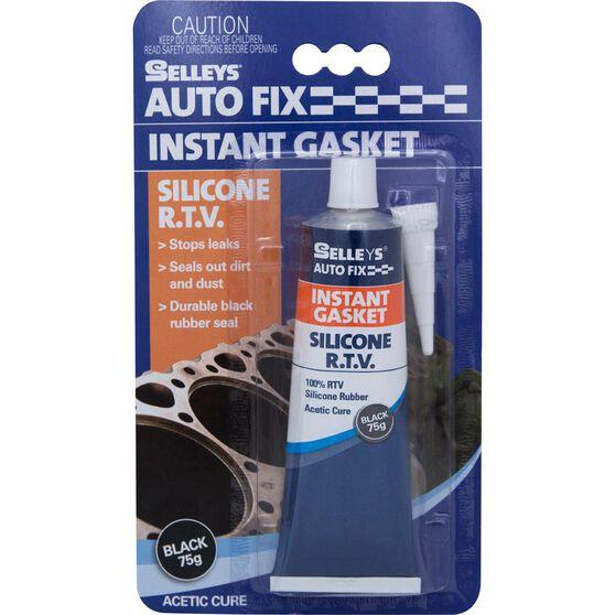 Selleys Autofix - Instant Gasket, Black, 75g, , scaau_hi-res