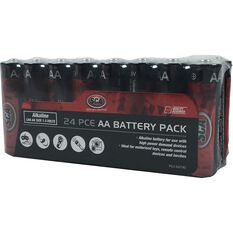SCA Heavy Duty Alkaline AA Batteries - 24 Pack, , scaau_hi-res