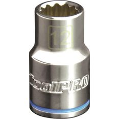 ToolPro Single Socket - 1 / 2 inch Drive, 12mm, , scaau_hi-res