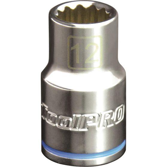 ToolPRO Single Socket - 1 / 2 inch Drive, 12mm, , scaau_hi-res