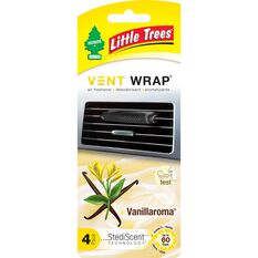 Little Trees Vent Wrap Air Freshener - Vanilla, , scaau_hi-res