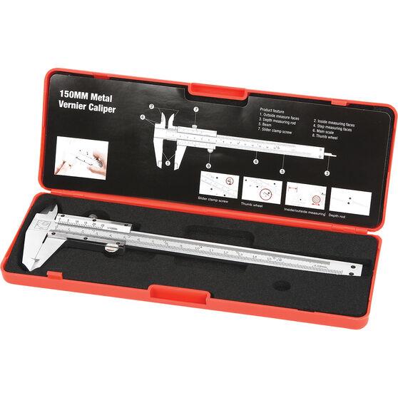 ToolPRO Caliper Vernier - Metal, 150mm, , scaau_hi-res