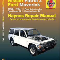 Haynes Car Manual For Nissan Patrol / Ford Maverick 1988-1997 - 72760, , scaau_hi-res