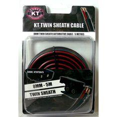 Trailer Wire - Twin Sheath, 8mm, 5m, , scaau_hi-res