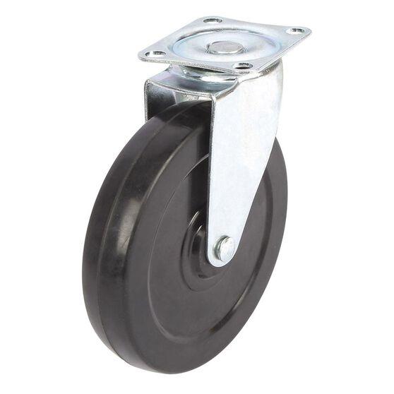 SCA Caster Wheel - 125 x 26mm, Plastic, Swivel, , scaau_hi-res