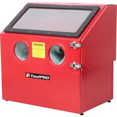 ToolPRO Sand Blasting Cabinet - 100 Litre, , scaau_hi-res