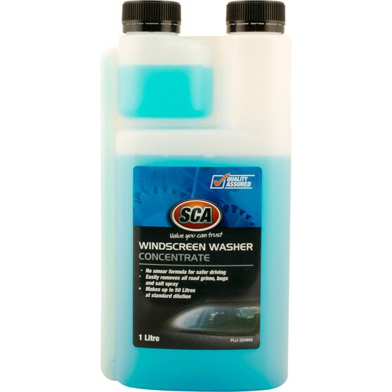 SCA Windscreen Wash Concentrate - 1 Litre, , scaau_hi-res