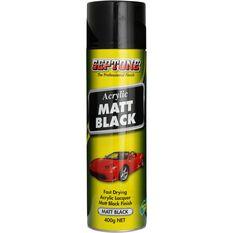 Septone Acrylic Aerosol Paint - Matt Black, 400g, , scaau_hi-res