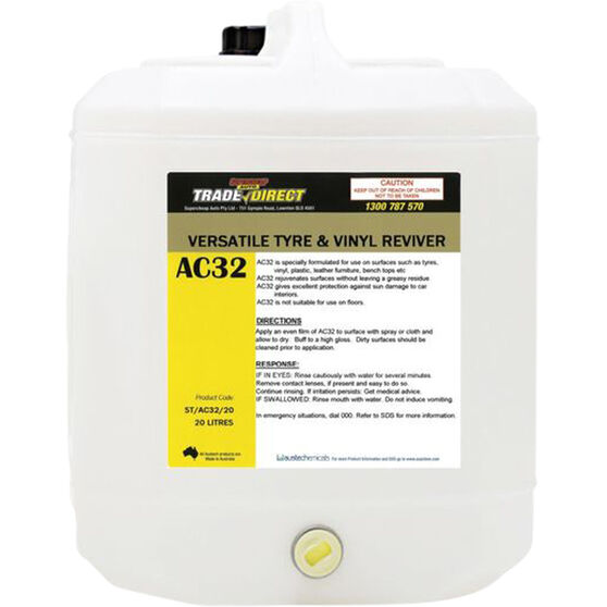 Trade Direct Vinyl and Rubber Protectant - 20 Litre, , scaau_hi-res