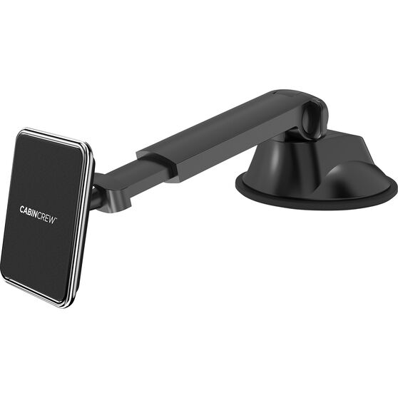 Cabin Crew Phone Holder - Suction Mount, Magnetic, Black, , scaau_hi-res