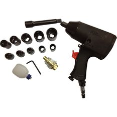 Blackridge Air Impact Wrench Kit - 16 Piece, , scaau_hi-res