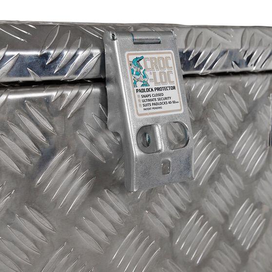 Thunderbox Tool Box - Aluminium Checkerplate, 48 Litre, , scaau_hi-res