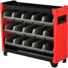 ToolPRO Stackable Bin Storage - 15 Compartment, , scaau_hi-res