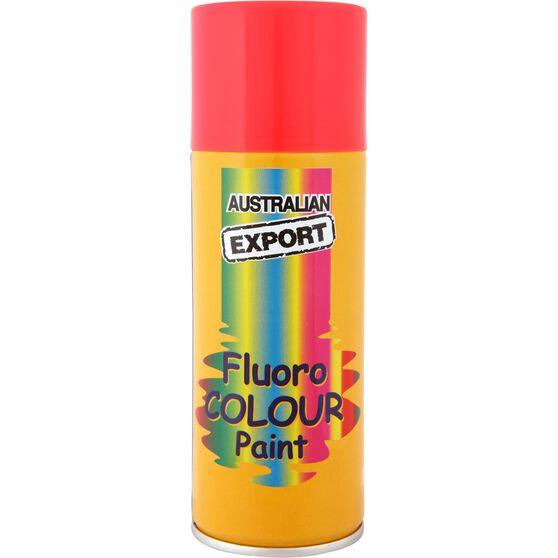 Export Enamel Aerosol Paint - Fluro Rocket Red, 125g, , scaau_hi-res