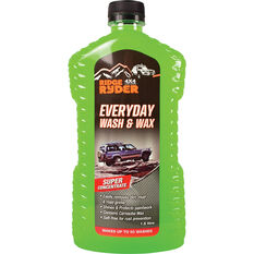 Ridge Ryder Everyday Wash & Wax - 1.5 Litre, , scaau_hi-res