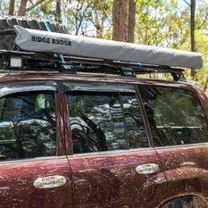 Ridge Ryder LED 4WD Awning Shade - 2.0 x 2.0m, , scaau_hi-res