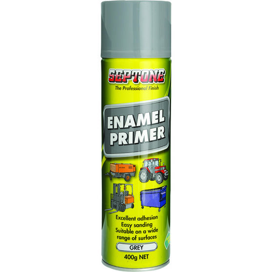 Septone Enamel Grey Primer 400g, , scaau_hi-res
