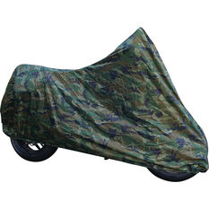 Camouflage Motorcycle Cover Large, , scaau_hi-res