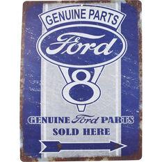 Hot Stuff Sticker - Genuine Parts Ford, Vinyl, , scaau_hi-res