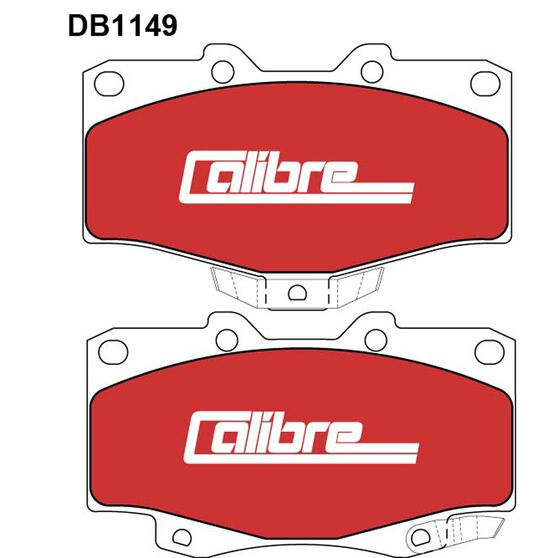 Calibre Disc Brake Pads DB1149CAL, , scaau_hi-res