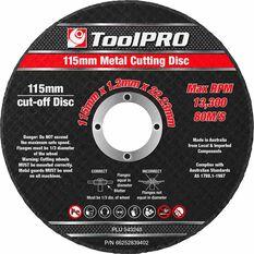 ToolPro Metal Cut Off Disc - 10 Pack, , scaau_hi-res