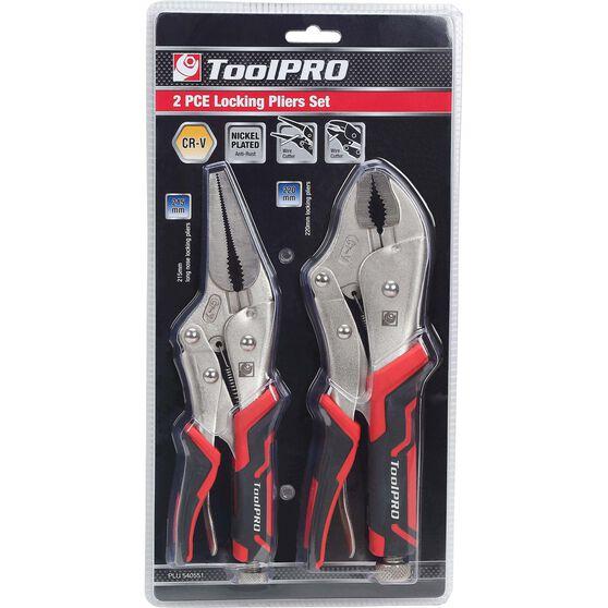 ToolPRO Large Locking Plier Set - 2 Pieces, , scaau_hi-res