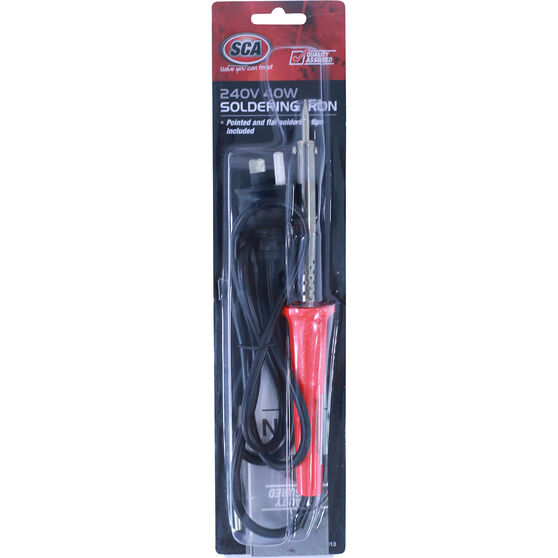 SCA Soldering Iron - 240V, 40W, , scaau_hi-res