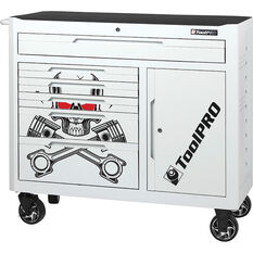 ToolPRO Tool Cabinet Skull 6 Drawer 42 Inch, , scaau_hi-res