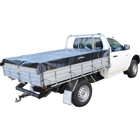 Spider Single Cab Ute Tarp - 2.45 X 2.15m, , scaau_hi-res